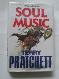 Soul Music - by Terry Pratchett 1st edition